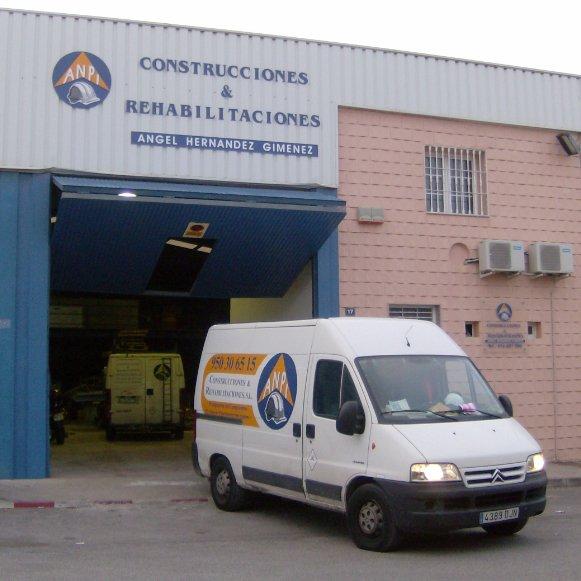 fachada empresa de reformas almeria